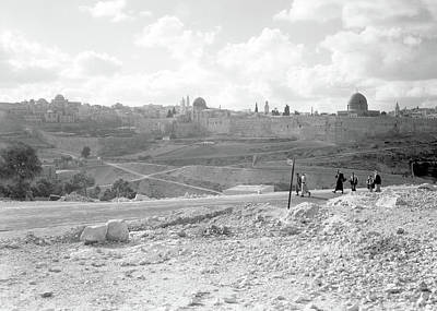 Photograph - Jerusalem 1939 by Munir Alawi