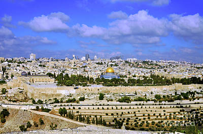 Prince Of Peace Photograph - Jerusalem 4 by Lydia Holly