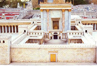 Jerusalem 70 Ad Art Print by Thomas R Fletcher
