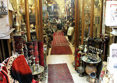 Photograph - Jerusalem Antique Store by Munir Alawi