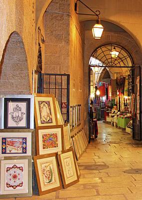 Photograph - Jerusalem Art Store by Munir Alawi