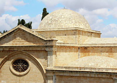 Photograph - Jerusalem Church Dome by Munir Alawi