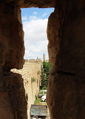 Photograph - Jerusalem Citadel View by Munir Alawi
