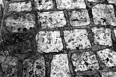 Photograph - Jerusalem Cobblestone by John Rizzuto