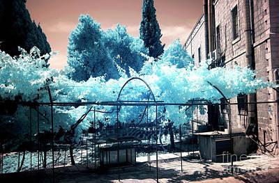 Photograph - Jerusalem Courtyard Style by John Rizzuto