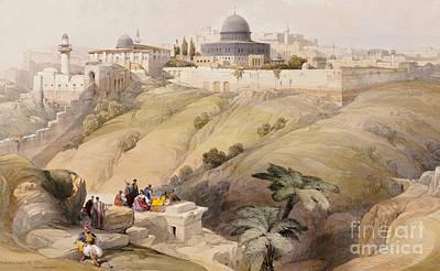 Jerusalem Painting - Jerusalem by David Roberts