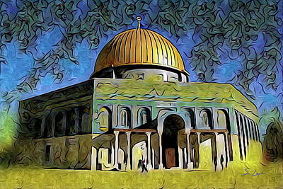 Photograph - Jerusalem Dome Of The Rock  by S Art