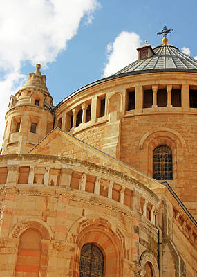 Photograph - Jerusalem Dormitory Church  by Munir Alawi