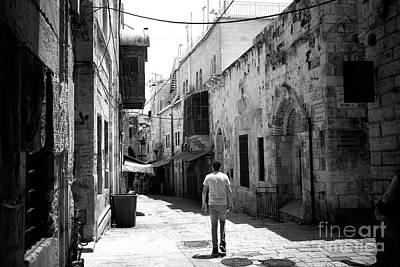 Photograph - Jerusalem Freeze Frame by John Rizzuto