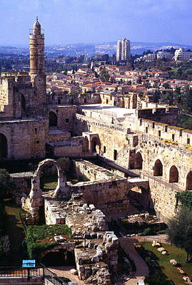 Jerusalem From The Tower Of David Museum Art Print by Thomas R Fletcher