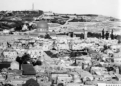 Photograph - Jerusalem From The West by Munir Alawi