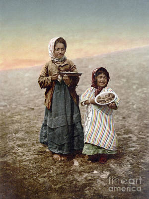 Photograph - Jerusalem Girls, C1900 by Granger