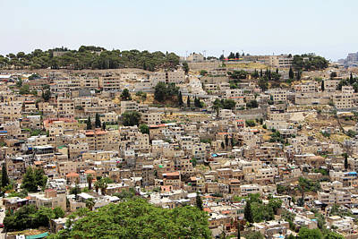 Photograph - Jerusalem Houses by Munir Alawi