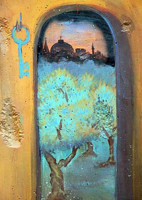 Jerusalem Key Art Print by Munir Alawi