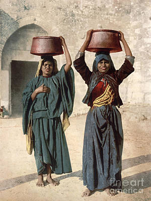 Photograph - Jerusalem: Milk Seller by Granger