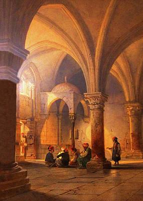 Photograph - Jerusalem Old Mosque by Munir Alawi