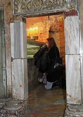 Photograph - Jerusalem Prayer by Munir Alawi