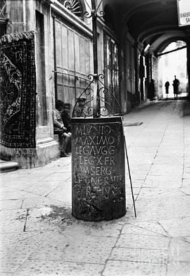 Photograph - Jerusalem: Roman Pillar by Granger