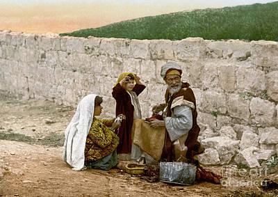 Photograph - Jerusalem Shoemaker, C1900 by Granger
