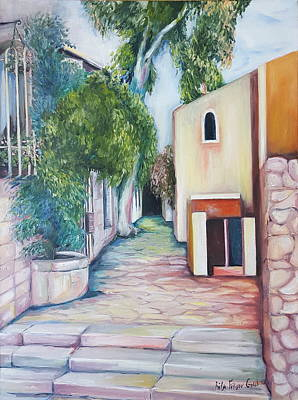 Painting - Jerusalem's Street by Rita Fetisov