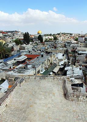 Photograph - Jerusalem View by Munir Alawi