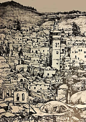 Photograph - Jerusalem Vintage 1934 by Munir Alawi
