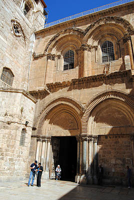 Photograph - Church Of The Holy Sepulchre 6 - Jerusalem by Isam Awad