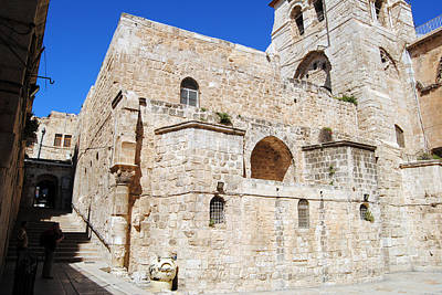 Photograph - Church Of The Holy Sepulchre 5 - Jerusalem by Isam Awad