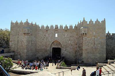 Photograph - Damascus Gate 2 - Jerusalem by Isam Awad