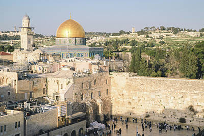 Photograph - Jerusalem's Western Wall And Temple Mount by Alexandre Rotenberg