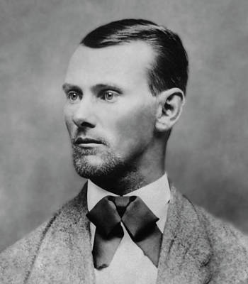 Old West Photograph - Jesse James -- American Outlaw by Daniel Hagerman
