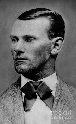 Photograph - Jesse James - American Outlaw by Doc Braham