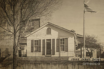 Photograph - Jesse James Home by Imagery by Charly