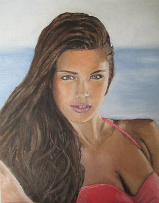 Painting - Jessica Ashley - Is A Work Of Art by G Cannon