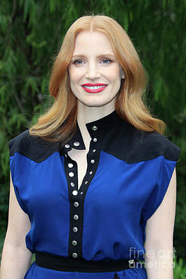 Photograph - Jessica Chastain by Nina Prommer