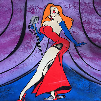 Jessica Rabbit Burlesque Show Original