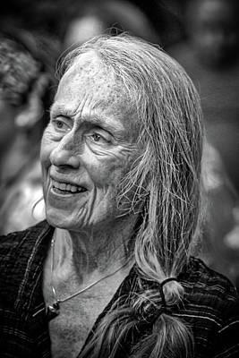 Photograph - Jessica Tandy Doppelganger by John Haldane