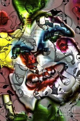 Jester Digital Art - Jester In Nola by John Rizzuto
