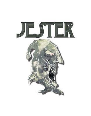 Digital Art - Jester by Jason Girard