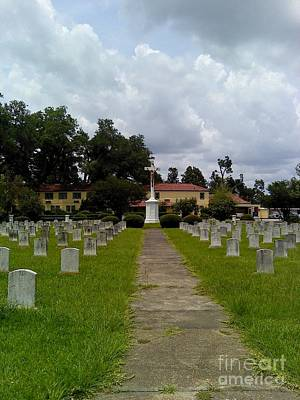 New Years - Jesuit Cemetery At Grand Coteau by Seaux-N-Seau Soileau