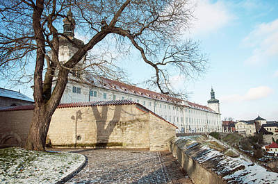 Photograph - Jesuit College In Winter. Kutna Hora  by Jenny Rainbow