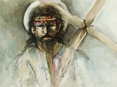 Jesus 3 Original by Mary DuCharme