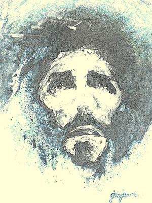 Jesus Painting - Jesus - 5 by Jun Jamosmos