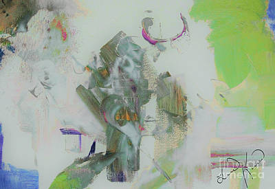 Digital Art - Jesus Abstract by Lisa Kaiser