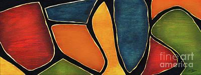 Mixed Media - Jesus - Abstract by Shevon Johnson