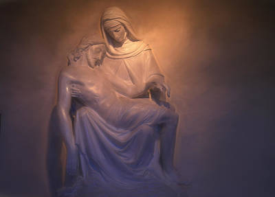 Photograph - Jesus And Mary by Donna Kennedy