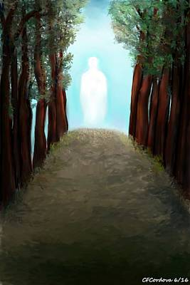 Spiritual Journey Digital Art - Jesus And Spiritual Journey by Carmen Cordova
