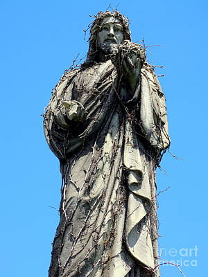 Photograph - Jesus And Vines by Ed Weidman