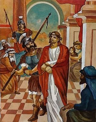 Painting - Jesus Arrested by Patrick RANKIN