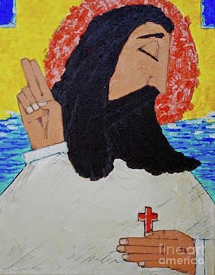 Painting - Jesus  by Art Mantia